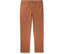 Dumbo Cotton-blend Gabardine Trousers - Camel