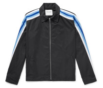Rave Waterproof Webbing-trimmed Shell Jacket
