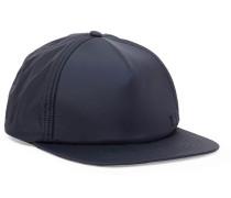 Covia Logo-appliquéd Nylon Baseball Cap - Midnight blue