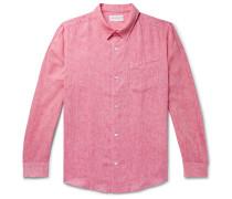 Monaco Mélange Slub Linen Shirt