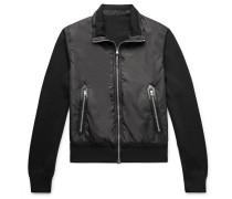 Slim-Fit Merino Wool and Padded Nylon Jacket