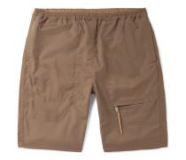 Wool-Blend Ripstop Shorts