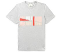 Voile-Appliquéd Cotton-Jersey T-shirt