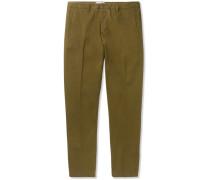 Slim-fit Cotton-twill Chinos - Green