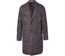 Bouclé-tweed Coat - Blue