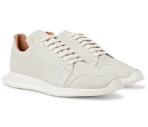 Oblique Full-grain Leather Sneakers