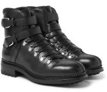 Alvis Leather Boots - Black