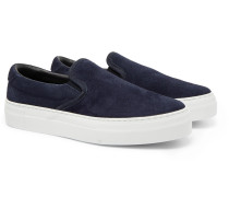 Garda Suede Slip-On Sneakers