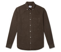 Button-Down Collar Tencel Shirt
