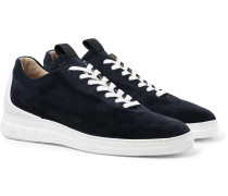 Radial Spoiler Nubuck Sneakers