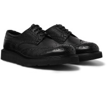 Bourton Full-Grain Leather Brogues