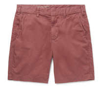 Cotton-Twill Bermuda Shorts