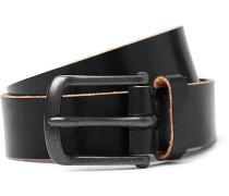 3cm Barrow Leather Belt
