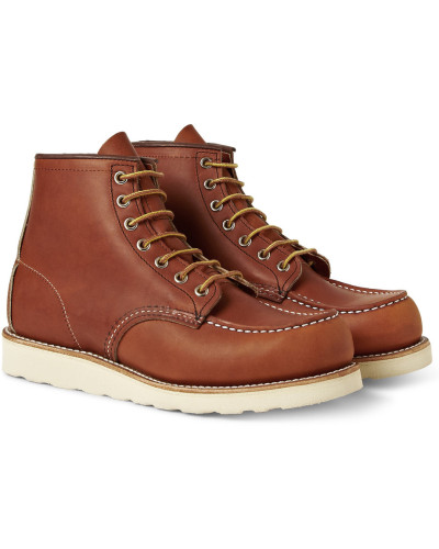 875 Moc Leather Boots - Brown