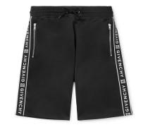 Logo-Jacquard Tech-Jersey Drawstring Shorts
