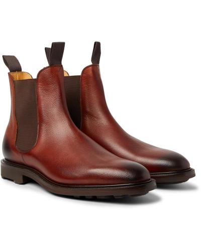 Edward Green Herren Newmarket Burnished Pebble-grain Leather Chelsea Boots Auslauf Zum Verkauf Online-Shop Erschwinglich Günstig Kaufen Besuch Tg0qu7pq