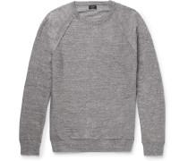 Mélange Cotton Sweater