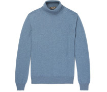 Slim-fit Baby Cashmere Rollneck Sweater