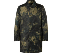 Slim-fit Reversible Camouflage-print Nylon Coat