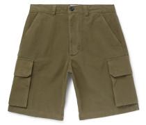 Cotton-canvas Cargo Shorts
