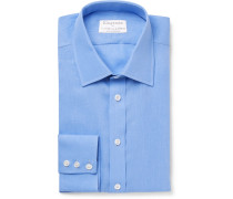+ Turnbull & Asser Blue Linen Shirt