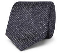 8cm Silk Tie - Gray