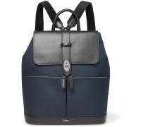 Reston Canvas And Leather Backpack