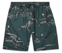 Soleia Printed Organic Cotton Pyjama Shorts