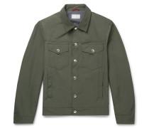 Slim-fit Shell Blouson Jacket
