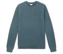 Loopback Cotton-jersey Sweatshirt - Petrol