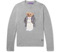 Bear-intarsia Cashmere Sweater