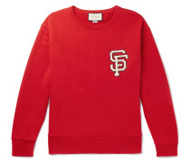 + San Francisco Giants Appliquéd Loopback Cotton-jersey Sweatshirt