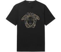 Logo-embellished Cotton-jersey T-shirt