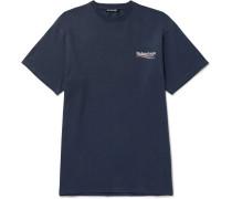 Oversized Logo-print Cotton-jersey T-shirt