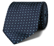 7.5cm Polka-dot Silk-jacquard Tie