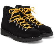 Roccio Vet Shearling-Lined Suede Boots