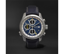 ALT1-B2(GMT) Automatic Chronograph 43mm Stainless Steel and Leather Watch