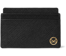 + Smythson Panama Cross-grain Leather Cardholder