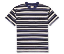 Sawaka Striped Cotton-jersey T-shirt