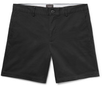 Baxter Slim-fit Stretch-cotton Twill Shorts
