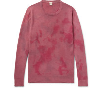 Tie-dyed Cashmere Sweater
