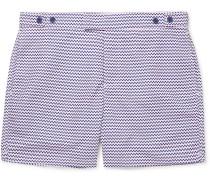Copacabana Mid-length Printed Swim Shorts - Pink