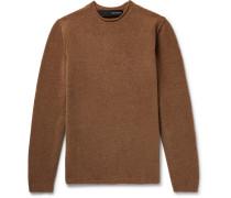 Merino Wool-blend Sweater - Brown