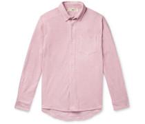 Leo Bathrobe Cotton-Terry Shirt
