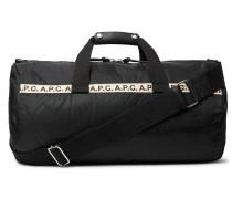 Webbing-trimmed Nylon Duffle Bag