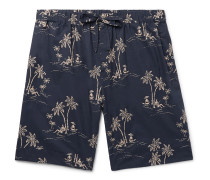 Printed Cotton Pyjama Shorts