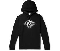 Ellison Logo-Print Loopback Cotton-Jersey Hoodie