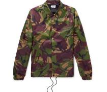 Igor Camouflage-print Shell Jacket - Green