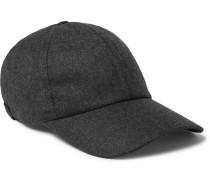 Wool-Flannel Baseball Cap