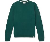 Vagn Fleece-back Cotton-jersey Sweatshirt